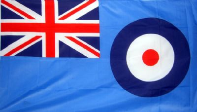 RAF ENSIGN NYLON DELUXE QUALITY - 5 X 3 FLAG